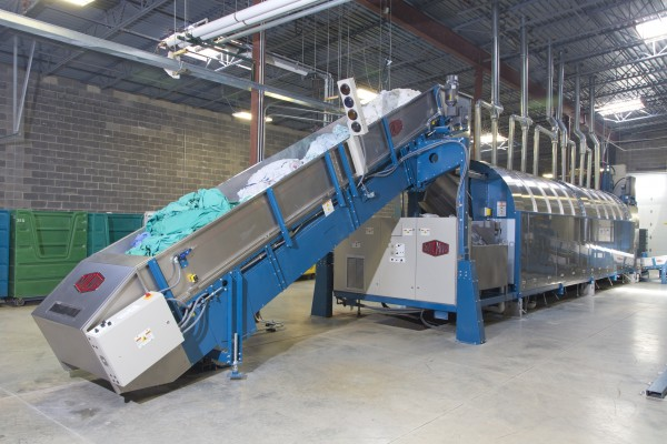 Marberry Laundry Adds Tunnel Washer Loses One Shift