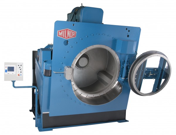 Milnor Washer Extractor Rapid Load ~ M series washer extractor brochure now available
